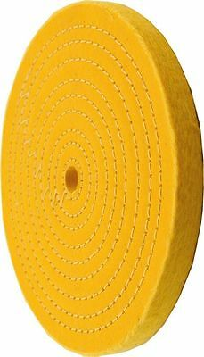 "NEW ENKAY 6"" Treated Buffing Wheel 1/2"" Bore - 156-YC- Free Shipping"