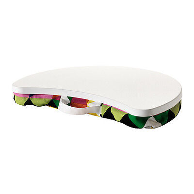 Laptop Notebook Support Stand White Multicolor Portable Table Tray New IKEA
