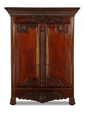 Exceptional Antique French Armoire