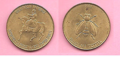 France 1969 Total Jeton Bibliotheque Nationale Napoleon coin / token / medal.