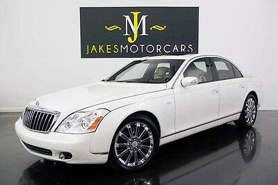 2008 Maybach 57S ($410K MSRP) 2008 MAYBACH 57S, $410K MSRP, WHITE ON WHITE, ONLY 39K MILES, SERVICED! PRISTINE