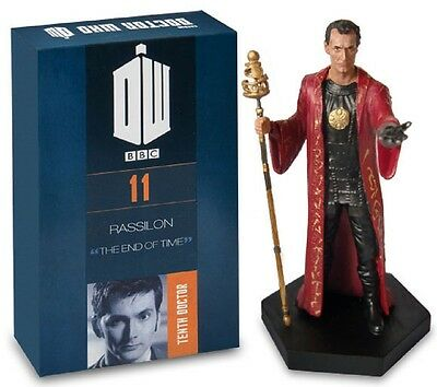 Doctor Who Figurine Collection Figure & Magazine - Part 11 Time Lord President