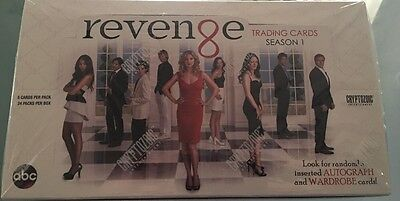 Revenge Trading Cards Season One Sealed Box! Season 1 Cryptozoic