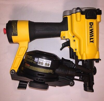 DEWALT 15* PNEUMATIC COIL ROOFING NAILER (DW45RN) Brand New Never Used