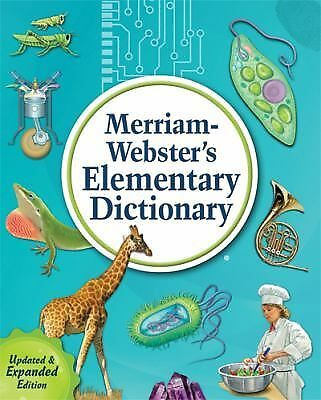 Merriam-Webster's Elementary Dictionary (2013, Hardcover, Enlarged)