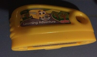 Mattel Fisher Price Smart Cycle Game Cartridge Learning Adventure