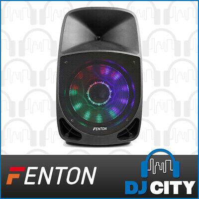 "Fenton FT1500A 15"" DJ Party Speaker 350W Powered w/ Bluetooth + MP3 + LED Lights"