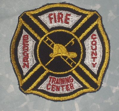 "Bergen County Fire Training Center Patch - New Jersey - 3 1/2"" x 3 3/8"""