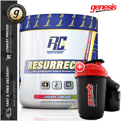 Resurrect P.M. by Ronnie Coleman - Muscle Growth Sleep & Recovery Formula!