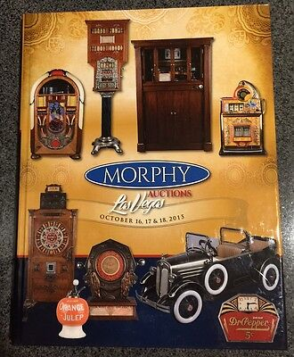 Morphy/ Victorian Casino Antiques Auction Catalog Coin Op 10/2015