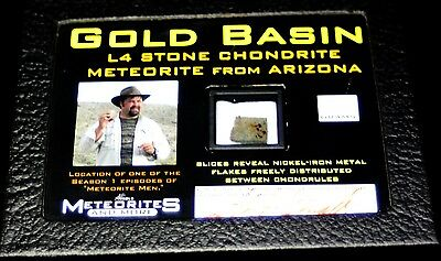 Meteorite Gold Basin L4 Stone Chondrite From Arizona (Mt61)