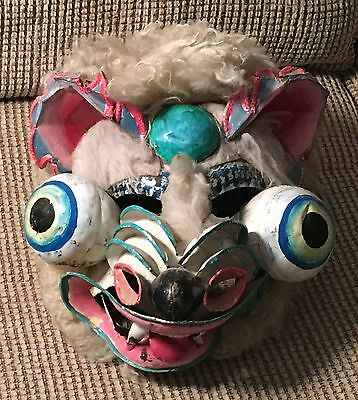 Bolivian Funeral Mask - Rare Find!