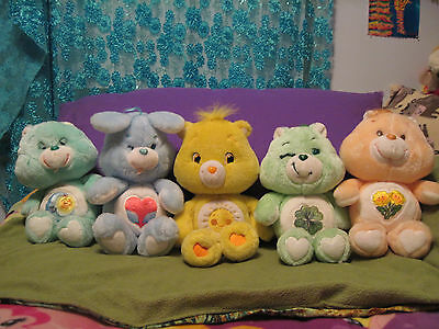 lot of 6 care bears
