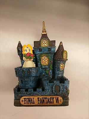 Rare Final Fantasy 6 Cold Cast Collection Opera House EMS from JAPAN USED No Box