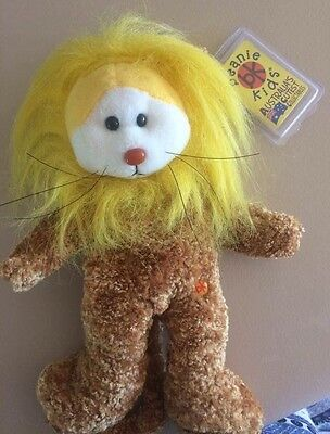 RARE Courage the Lion beanie kid in MINT condition