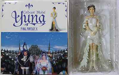 Rare Final Fantasy Ⅹ 10 Cold Cast Collection Yuna Wedding Dress Ver. from JAPAN