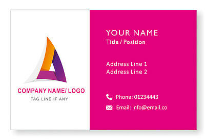 Design Personalised Logo Business Cards Custom Company Visiting Card-Front