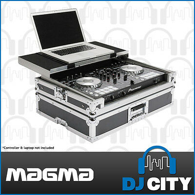 Magma 40968 DJ Controller Case for Pioneer DDJ-SR / DDJ-RR with Laptop Shelf