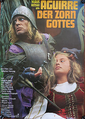 AGUIRRE, THE WRATH OF GOD (1972) Original German Movie Poster WERNER HERZOG