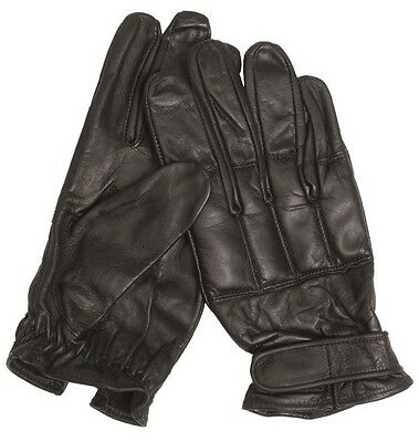 Security Leder Handschuhe Defender mit Quarzsand