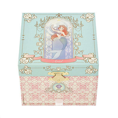 Ariel ❤ Accessory box with music box Disney Store Japan The Little Mermaid