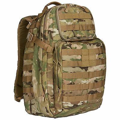 5.11 Tactical Rush 24 backpack Multicam Color - New with Tags