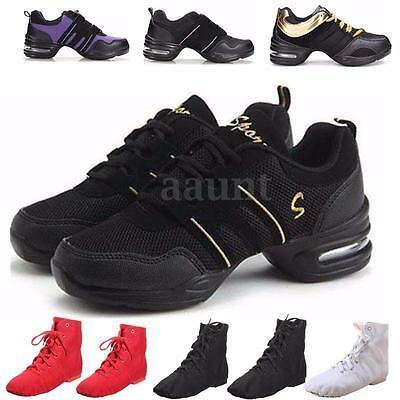 NEW Women Lady Comfy Hip Hop Modern Jazz Dance Shoes Breathable Sneakers