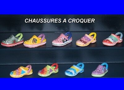 Serie Incomplete De Feves  Chaussures A Croquer   2017