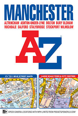 Manchester Street Atlas by Geographers' A-Z Map Co Ltd (Paperback)