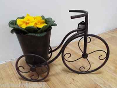 Homestead Living Penny Farthing Wheelbarrow Planter 25cm H x 34cm W x 13cm D