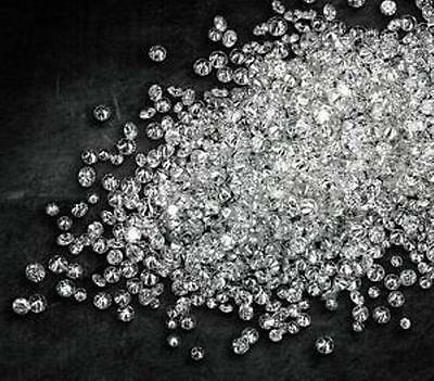 VS Clarity/ F-G Color Real Natural Round Cut Polished Loose 0.35TCW Diamonds