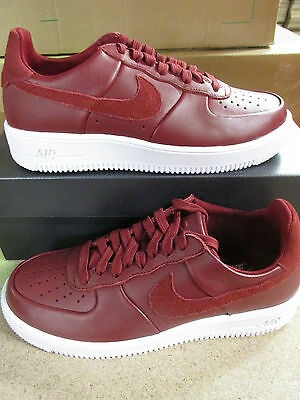Nike Air Force 1 Ultra Force LTHR Mens Trainers 845052 600 Sneakers Shoes a9934bc22