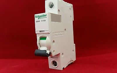Schneider Electric A9F55116 16A 16Amp D Type Sp Single Pole Ic60H Mcb Breaker