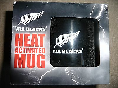 Official Licenced All Blacks Heat Activated Mug
