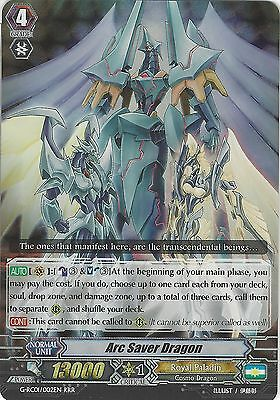 Cardfight Vanguard Card: Arc Saver Dragon - G-Rc01/002En Rrr