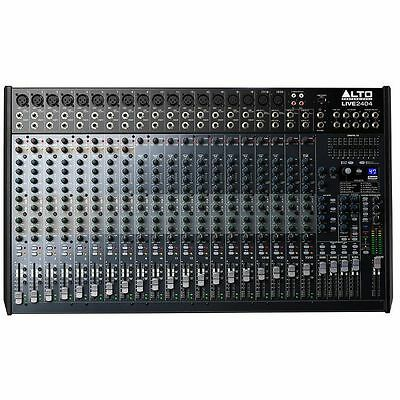 Alto Live 2404 24 Channel 4 Bus Mixer