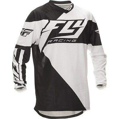 Fly F16 black and white adult jersey motocross/quad size M