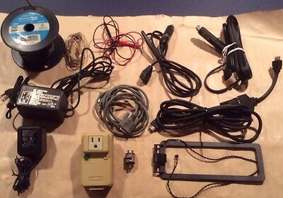 Vtg Lot Audio Video Computer Connectors Adapters Microphone Earphone Stereo Wire