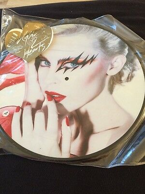 """2 Hearts Kylie Minogue UK 12"""" Vinyl Picture Disc Record Unused"""