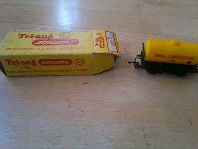 TRIANG TT T76 SHELL LUBRICATING OIL TANK WAGON,_Good Condition_Boxed_