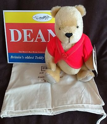 Dean's Mohair Pooh Teddy Bear - Pooh & Friends 12 Series - New In Box With Tags