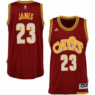 #23 LeBron James Cleveland Cavaliers throwback NBA jersey Mens sizes Brand new!
