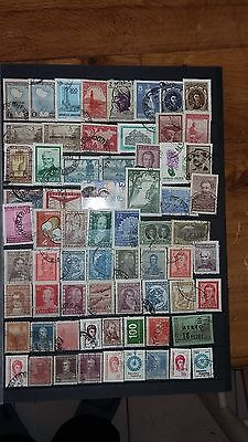65 timbres Argentine (lot ja6)