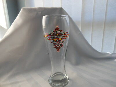 Harley Davidson Cafe Live Hard Ride Easy Las Vegas Tall Beer Glass