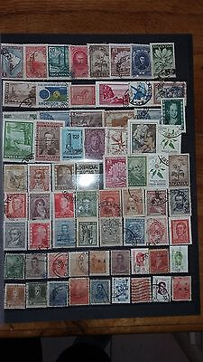 67 timbres Argentine (lot ja7)