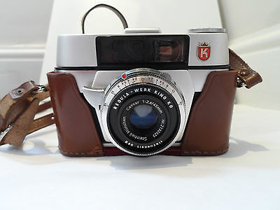 Vintage King Regula L Camera with Case and Boxed