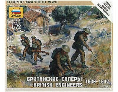 Zvezda - British engineers 1939-1942 - 1:72