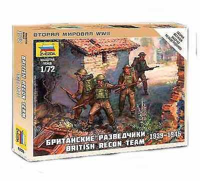 Zvezda - British recon team 1939-1945  - 1:72