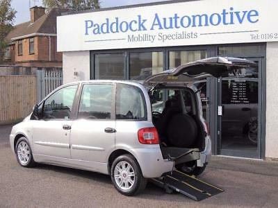 Fiat Multipla 1.9 Wheelchair up Front Disabled Wheelchair Adapted Vehicle WAV
