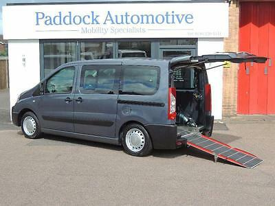2010 Citroen Dispatch DISPATCH HDI Disabled Wheelchair Adapted Vehicle WAV 5 ...